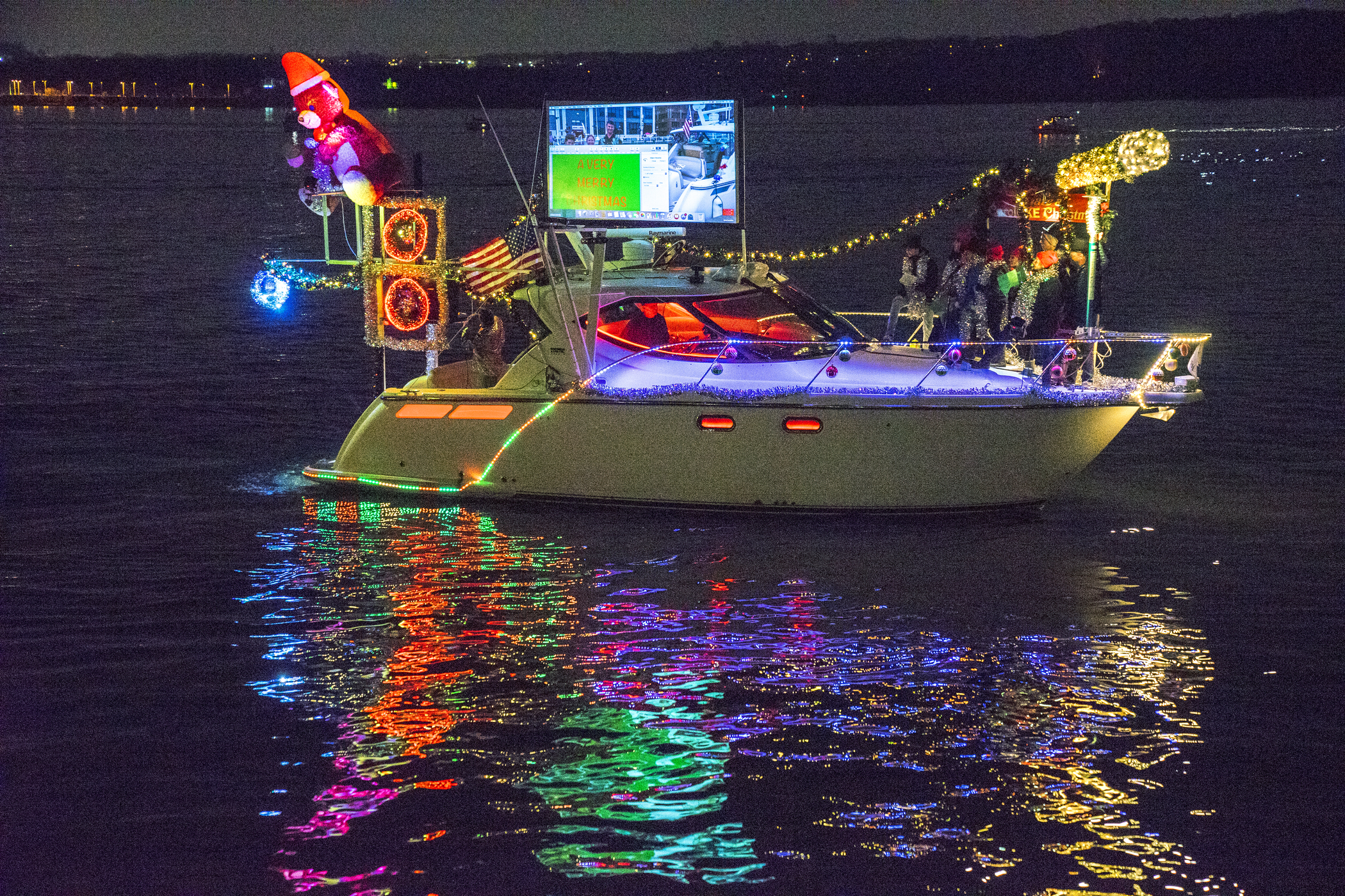 Fort Lauderdale Christmas Boat Parade.Boat Parade Of Lights Wins Usa Today Readers Choice Award