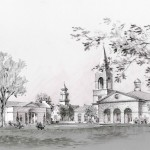 A rendering of the new Immanuel Chapel, expected to cost $13 million, as it would look from Seminary Road.(VTS)