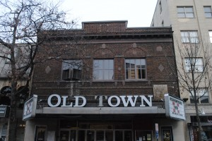 Roger Fons sold the Old Town Theater, which he ran as a film house, to Rob Kaufman several years ago. Though Kaufman considered converting it to retail space, he eventually restored the building. (File Photo)