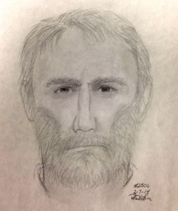 A composite sketch of the man thought to have shot Ruthanne Lodato. (Image/APD)