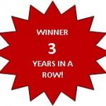 3YEAR WINNER