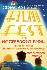 Alexandria Comcast Outdoor Film Festival @ Alexandria Waterfront Park   Alexandria   Virginia   United States