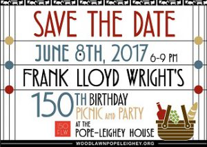 Frank Lloyd Wright 150th Birthday Picnic Party @ Pope-Leighey House  | Alexandria | Virginia | United States