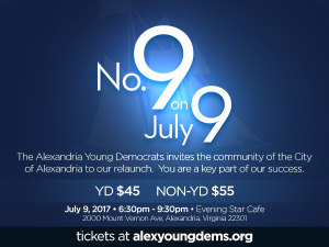 No. 9 on the 9th @ Evening Star Cafe No. 9 Lounge | Alexandria | Virginia | United States