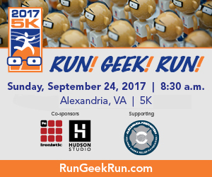 Register today for Run! Geek! Run!