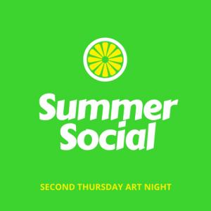 Summer Social: Second Thursday Art Night @ The Torpedo Factory | Alexandria | Virginia | United States