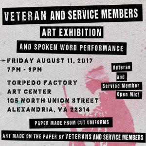 Combat Paper / Warrior Writers @ Torpedo Factory Art Center | Alexandria | Virginia | United States
