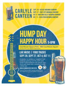 Carlyle Canteen – Hump Day Fall Happy Hour Series @ Courthouse Square Park   Alexandria   Virginia   United States