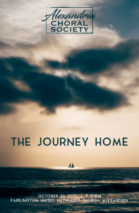 Alexandria Choral Society: The Journey Home @ Fairlington United Methodist Church | Alexandria | Virginia | United States