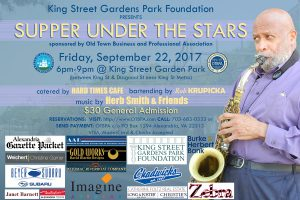 Supper Under the Stars @ King Street Gardens Park | Alexandria | Virginia | United States