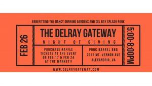 Del Ray Gateway Night of Giving @ Pork Barrel BBQ | Alexandria | Virginia | United States