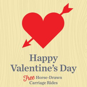 Valentine's Day Horse-Drawn Carriage Rides @ Village at Leesburg Shopping Center | Leesburg | Virginia | United States