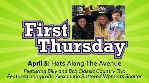 First Thursday: Hats Along The Avenue @ Along Mount Vernon Avenue | Alexandria | Virginia | United States