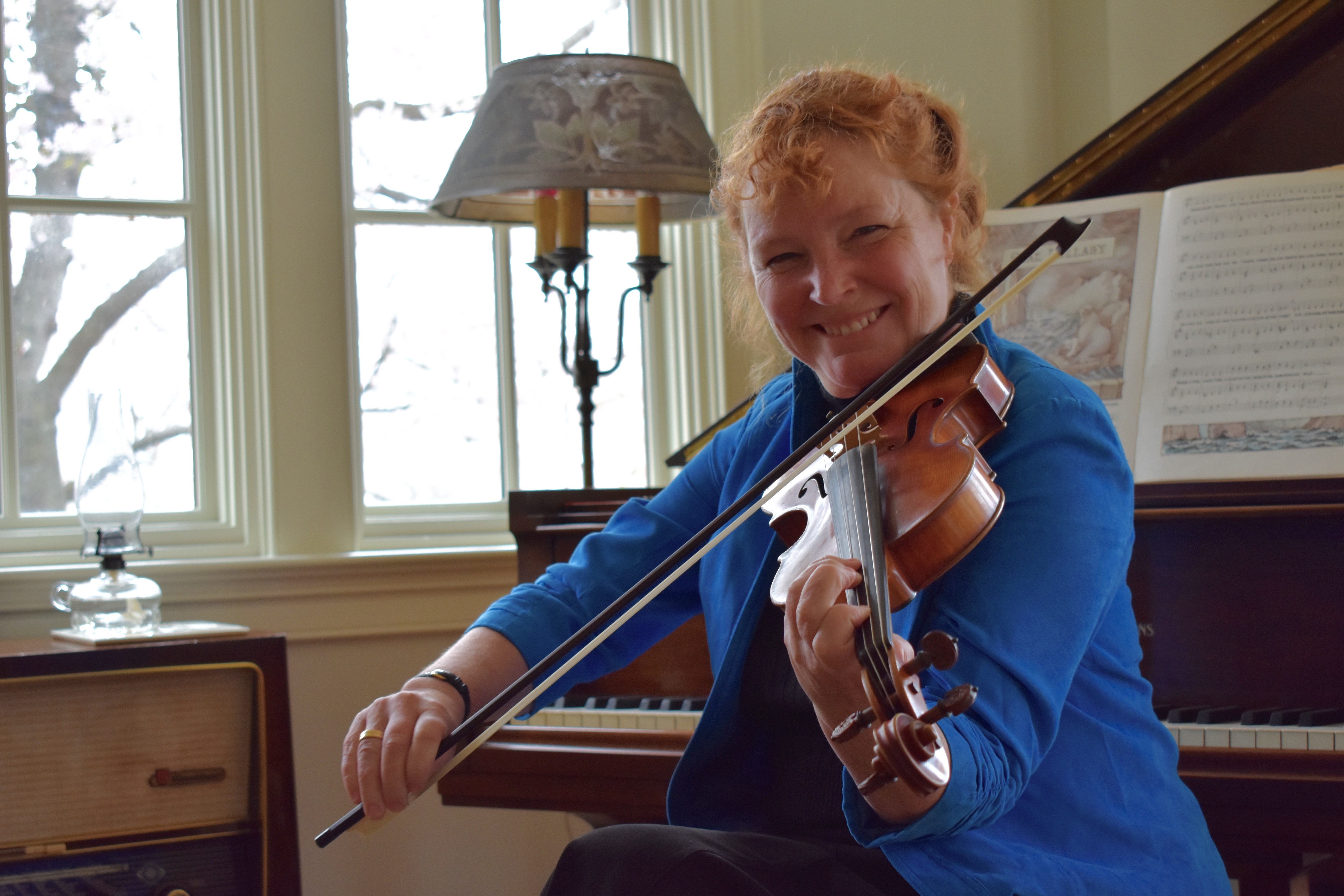 bonnie rideout brings scottish fiddle music out of the pub