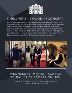 Free Concert at St. Paul's Church @ St. Paul's Episcopal Church | Alexandria | Virginia | United States