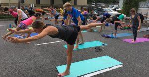 Cool Yoga – Free Outdoor Yoga @ Del Ray Psych & Wellness Lot | Alexandria | Virginia | United States