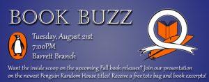 Book Buzz @ Kate Waller Barrett Branch Library | Alexandria | Virginia | United States