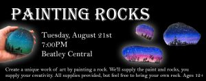 Painting Rocks @ Charles E. Beatley, Jr. Central Library | Alexandria | Virginia | United States