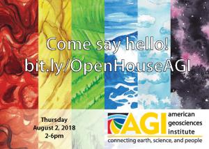 The American Geosciences Institute's Community Open House @ The American Geosciences Institute | Alexandria | Virginia | United States