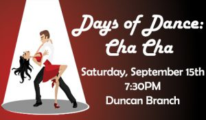 Learn to Cha Cha! @ James M. Duncan, Jr. Branch Library | Alexandria | Virginia | United States