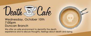 Death Cafe @ James M. Duncan, Jr. Branch Library        