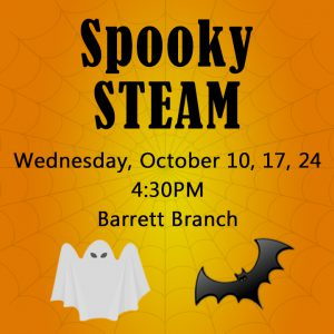 Spooky STEAM @ Kate Waller Barrett Branch Library | Alexandria | Virginia | United States