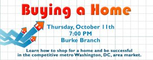 Buying a Home @ Ellen Coolidge Burke Branch Library |  |  |