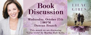 Book Discussion Group @ James M. Duncan, Jr. Branch Library |  |  |