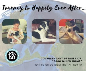 Journey to Happily Ever After: A Film Premier of '7,000 Miles Home' @ Wag & Brew  |  |  |