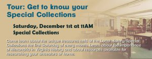 Local History/Special Collections Tour @ Kate Waller Barrett Branch Library | Alexandria | Virginia | United States