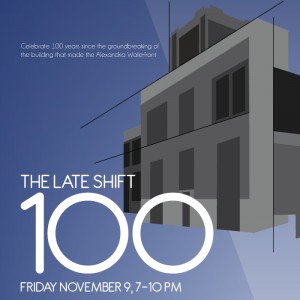 The Late Shift: 100 @ Torpedo Factory Art Center | Alexandria | Virginia | United States
