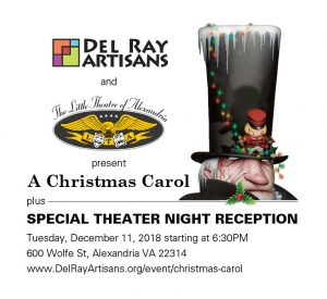 """A Christmas Carol"" Theater Night at The Little Theatre of Alexandria @ Little Theatre of Alexandria 