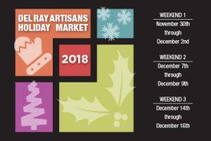 Del Ray Artisans' 23rd Annual Fine Art & Fine Craft Holiday Market @ Del Ray Artisans |  |  |
