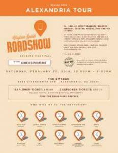 "Virginia Craft Spirits Roadshow @ Building Momentum Co-Op Space (""The Garden"")"
