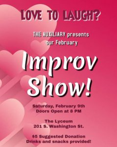 Auxiliary Improv Show @ The Lyceum