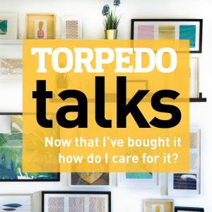 Torpedo Talk: Caring for Art @ Torpedo Factory Art Center