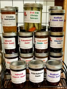 Van Napier Farms Jams and Jelly Tastings @ The Old Town Shop