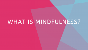 What is Mindfulness? with Dr. Eleni Boosalis @ Del Ray Psych & Wellness