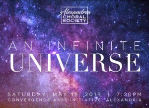 Alexandria Choral Society: An Infinite Universe @ Convergence Arts Initative