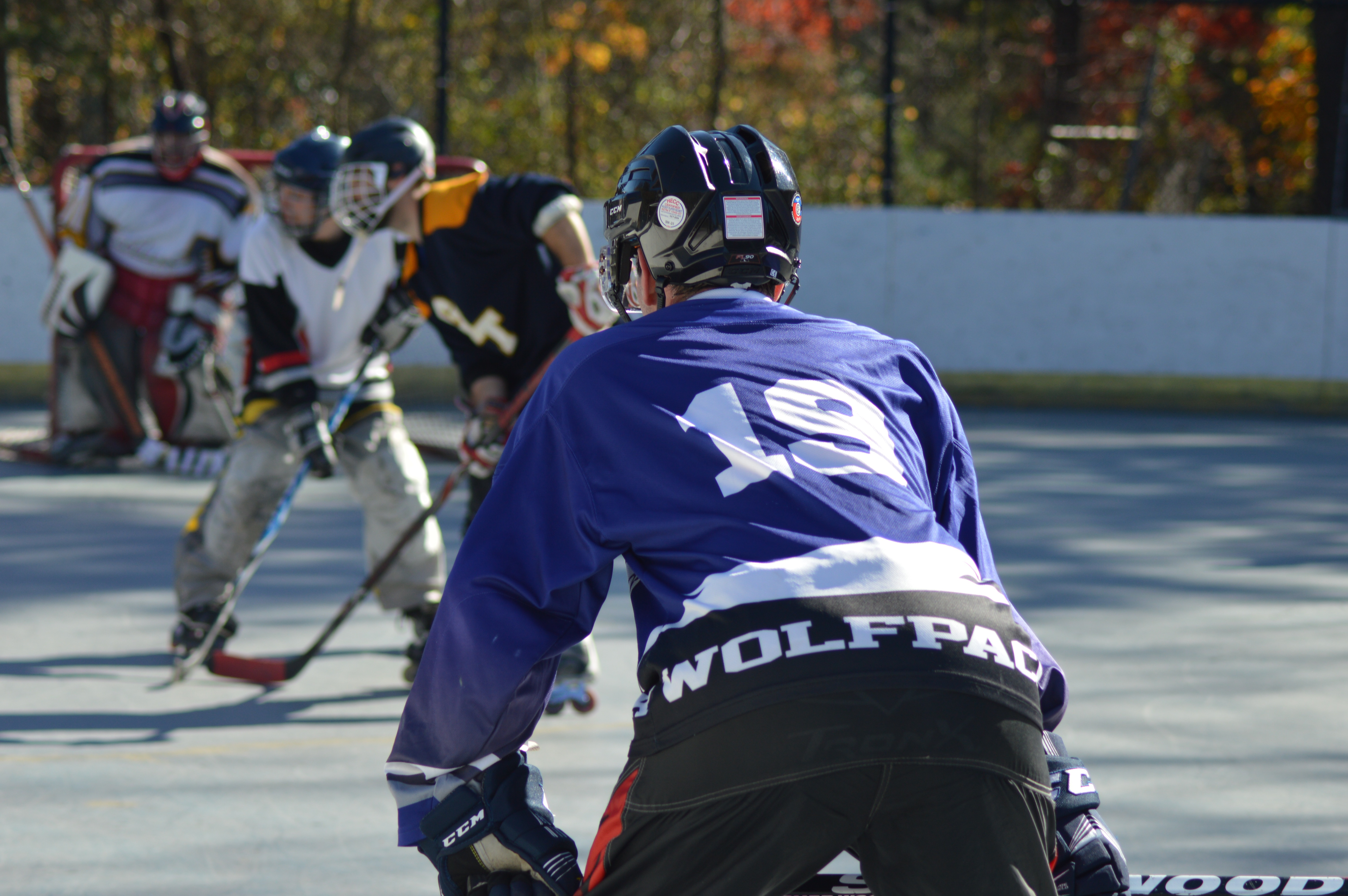 Alexandria Roller Hockey League takes to the concrete
