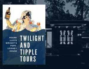 Twilight & Tipple Tours at Frank Lloyd Wright's Pope-Leighey House! @ Woodlawn & Pope-Leighey House