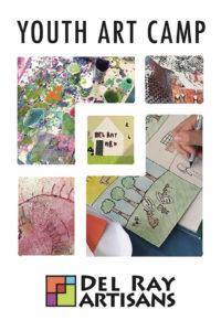 2019 Youth Summer Art Camp at Del Ray Artisans @ Del Ray Artisans Gallery
