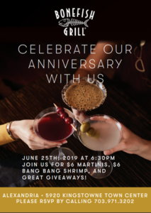 Bonefish Grill 12th Anniversary Celebration @ Bonefish Grill