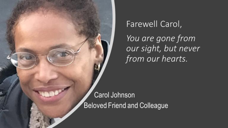Carol Johnson, community activist, dies at 67